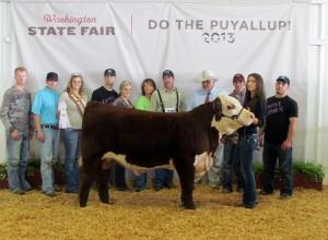 2013 Washington State Fair KPH Zander 2A